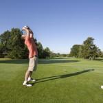 Golf Swing Gone Bad