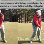 Improve Your Putting by Staying Connected
