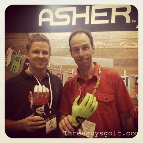 Asher Glove Founder James Roundy