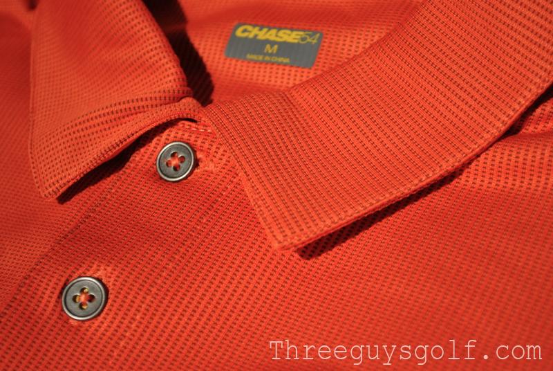 Chase54 Orange Polo