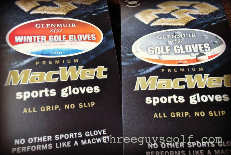 MacWet Golf Gloves by Glenmuir