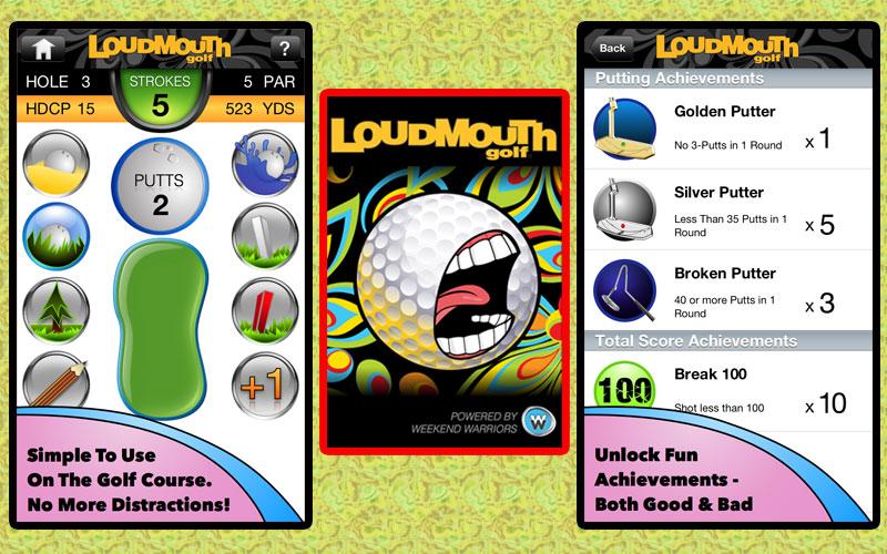 Loudmouth Golf App