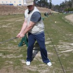 Use your knee to improve your golf swing