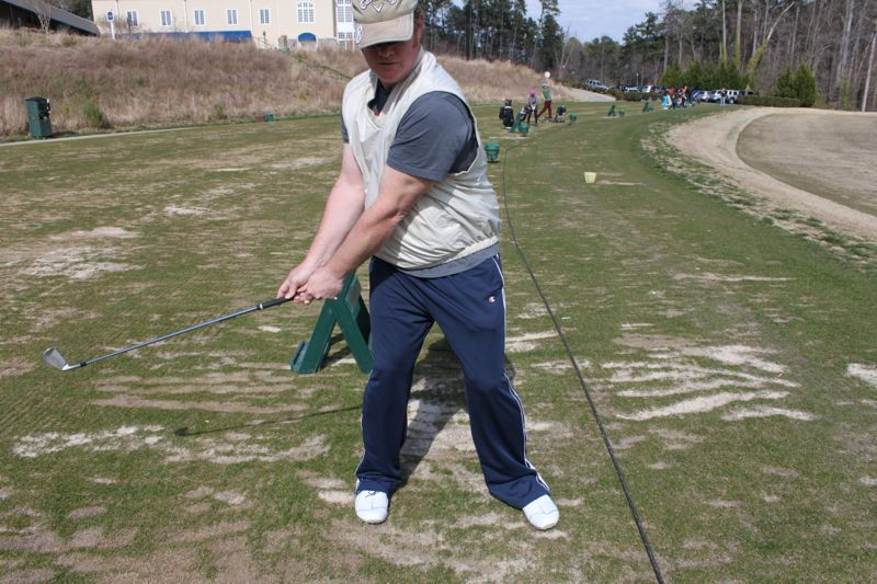 Use Your Knees Correctly In Your Golf Swing