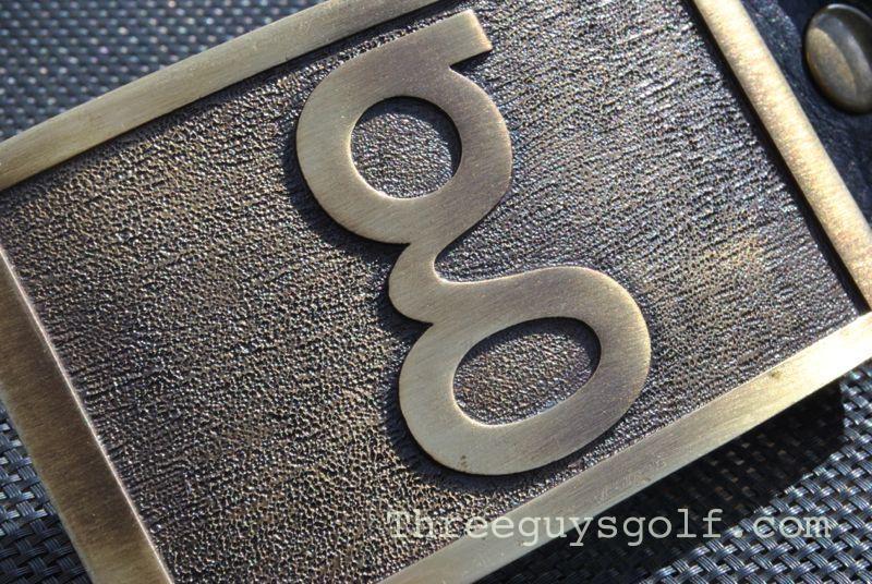 G Belt in Antique Brass