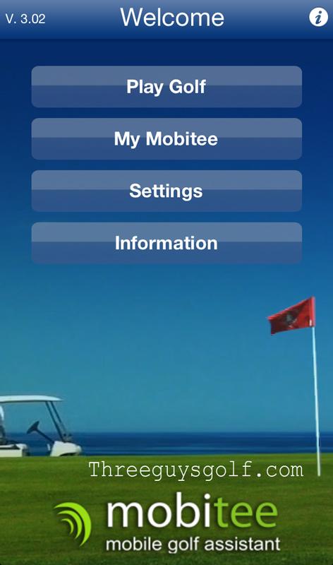 Mobitee Golf App