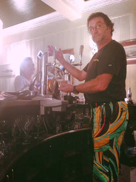 Contributing Loudmouth Bartender