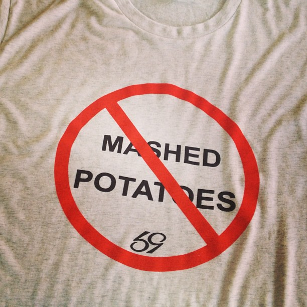 no mashed potatoes