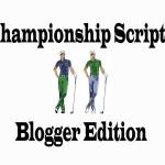 Major Scripts-Blogger Edition