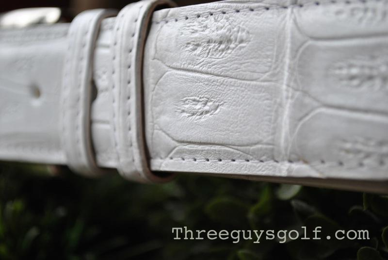 Piedmont Leather Alligator Belt