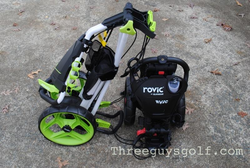 ClicGear Rovic Review | Three Guys Golf on sun mountain golf cart seat, sun mountain golf cart tires, sun mountain golf cart air pump,