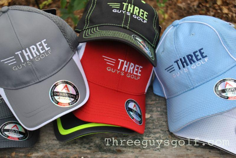 Three Guys Golf Hats