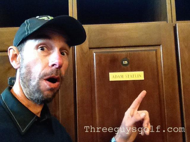 TPC Sawgrass Locker Room
