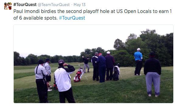 TourQuest US Open Sectional