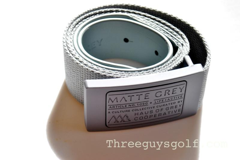 Matte Grey belt