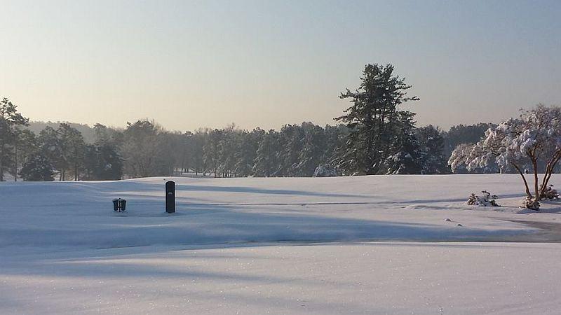 Snow golf