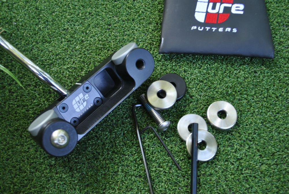 Cure putter weight kit
