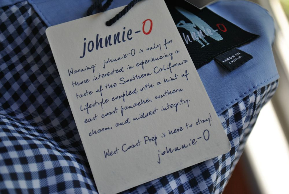 Johnnie-o apparel