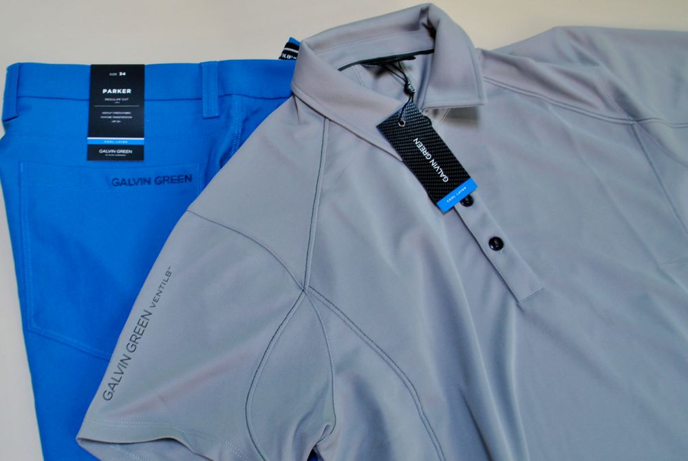 Galvin Green golf shirt