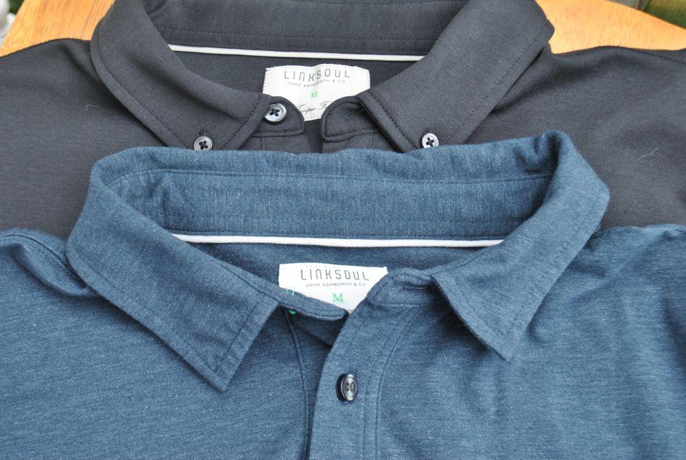 Linksoul cotton polo