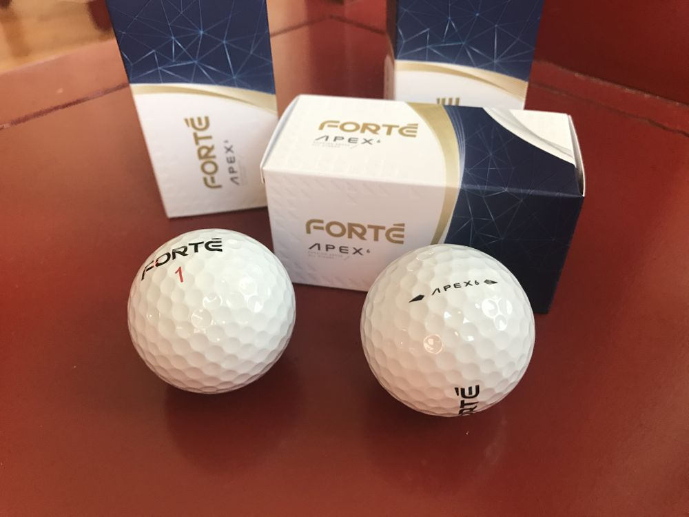 Forte Apex golf ball